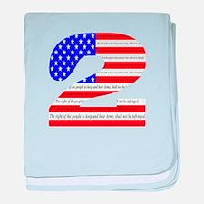 Flag2 baby blanket