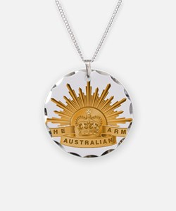 Australian Army badge Necklace