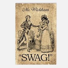 Mr Wickham Swag Postcards (Package of 8)