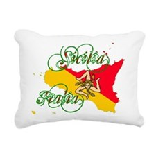 Sicilia Italia Rectangular Canvas Pillow