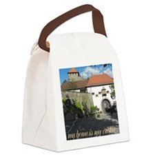my home is my castle Canvas Lunch Bag