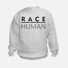 Race Human Sweatshirt