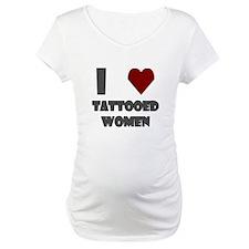 I Love Tattooed Women Shirt