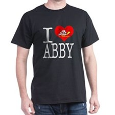 I Heart Abby and Caf-Pow of NCIS Fame T-Shirt