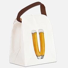 V Beer Canvas Lunch Bag