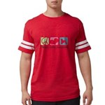 peacedogs.png Mens Football Shirt