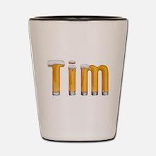 Tim Beer Shot Glass
