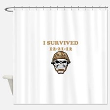 survived Shower Curtain