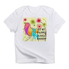floral bonnet.png Infant T-Shirt
