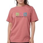 peacedogs.png Womens Comfort Colors Shirt