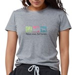 peacedogs.png Womens Tri-blend T-Shirt