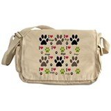 Dogs Messenger Bag