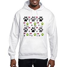I Love Dogs Hoodie