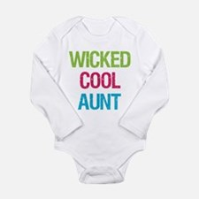 Cute Aunt christmas Long Sleeve Infant Bodysuit