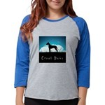 nightsky.png Womens Baseball Tee
