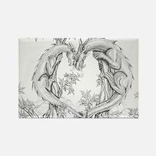 Dragon Heart Rectangle Magnet