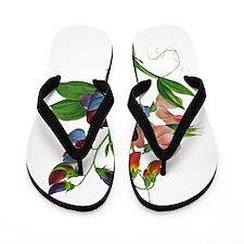 Pierre-Joseph Redoute Botanical Flip Flops