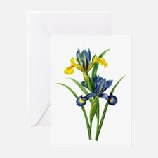 Pierre-Joseph Redoute Botanical Greeting Card