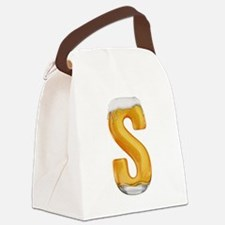 S Beer Canvas Lunch Bag