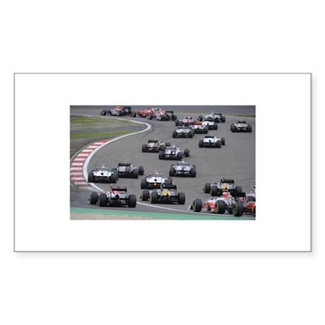 F1 Sticker (Rectangle)