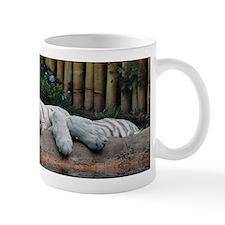 Sleeping White Tigers Mug