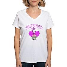 Birthday Girl Cupcake Shirt