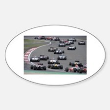 F1 Sticker (Oval)