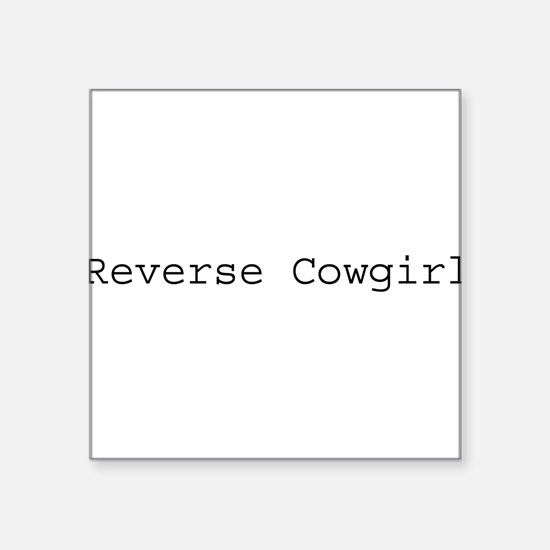 """re-girl.png Square Sticker 3"""" x 3"""""""