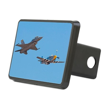 F16 Fighter Rectangular Hitch Cover