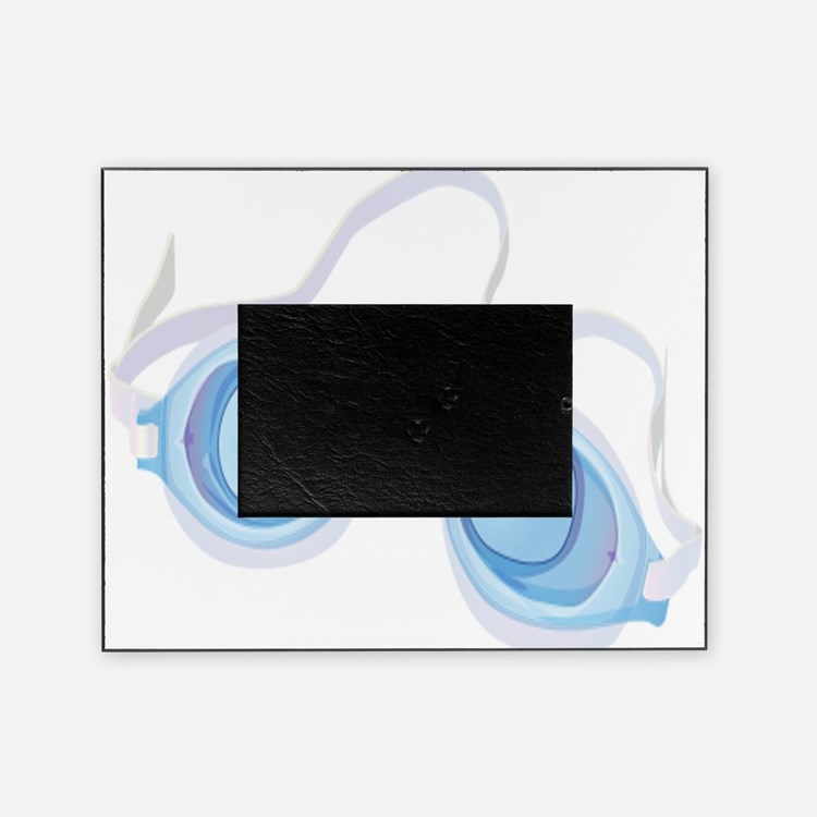 Swimming Goggles Picture Frame