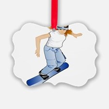 Snowboarding Gift Ornament