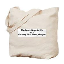 Country Club Plaza: Best Thin Tote Bag