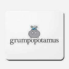 Grumpy Hippo Mousepad