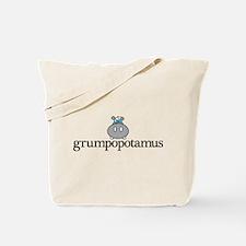 Grumpy Hippo Tote Bag
