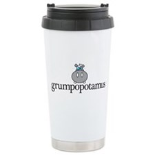 Grumpy Hippo Travel Mug