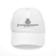 Grumpy Hippo Baseball Cap