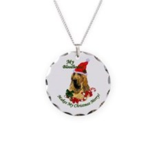 Bloodhound Christmas Necklace
