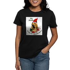 Bloodhound Christmas Tee