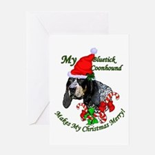 Bluetick Coonhound Greeting Card