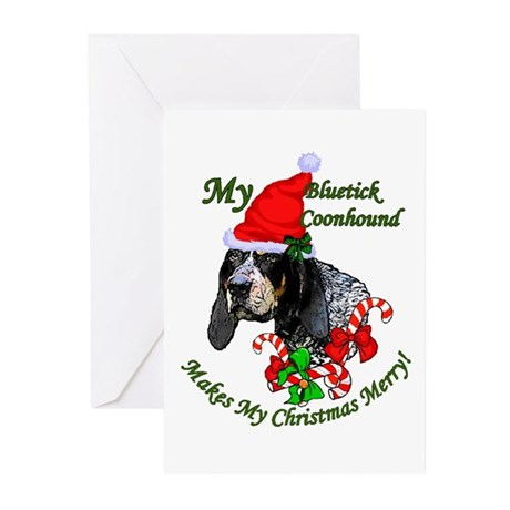 Bluetick Coonhound Greeting Cards (Pk of 20)