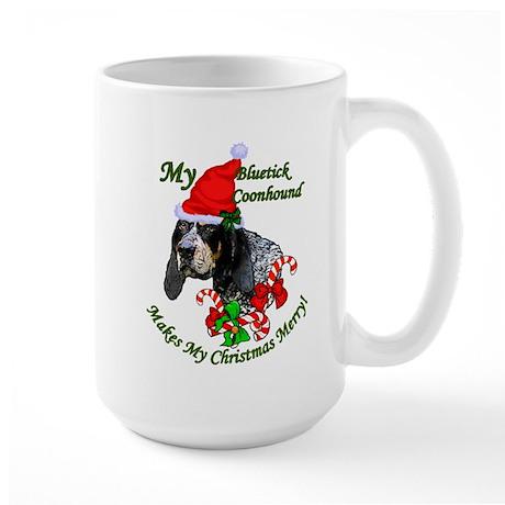 Bluetick Coonhound Large Mug