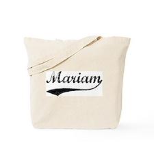 Vintage: Mariam Tote Bag