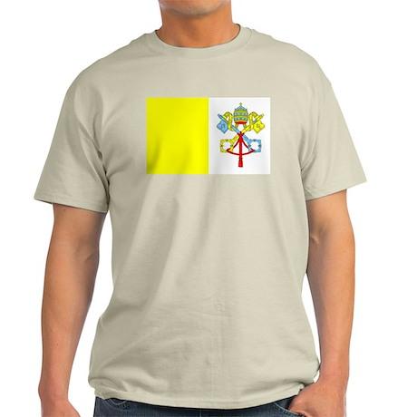 Vatican Ash Grey T-Shirt