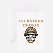 survived Greeting Card