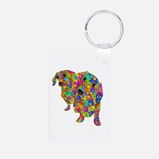 Designed Color Doxies Keychains