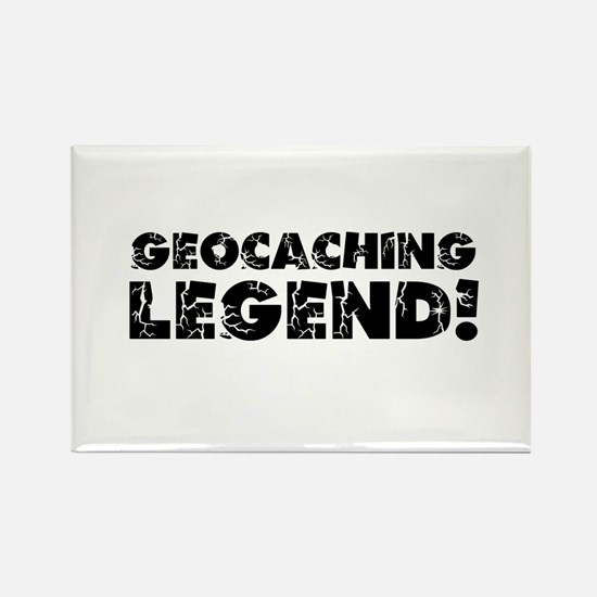 Geocaching Legend Rectangle Magnet
