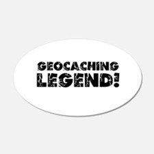 Geocaching Legend Wall Decal