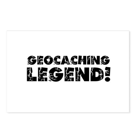 Geocaching Legend Postcards (Package of 8)