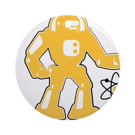 Robot Ornament (Round)