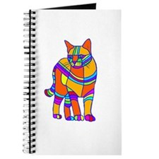 Stripped Cat Journal